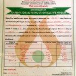 Certified Plant Nursery